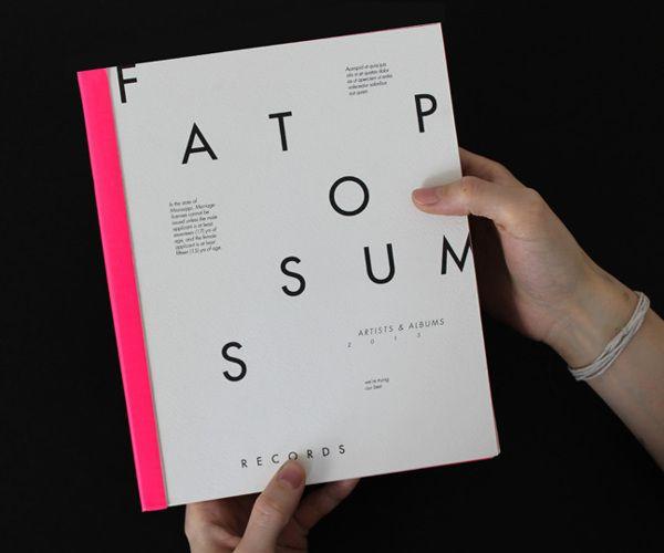 visualgraphc:  Fat Possum Artist Booklet - Elizabeth McMann