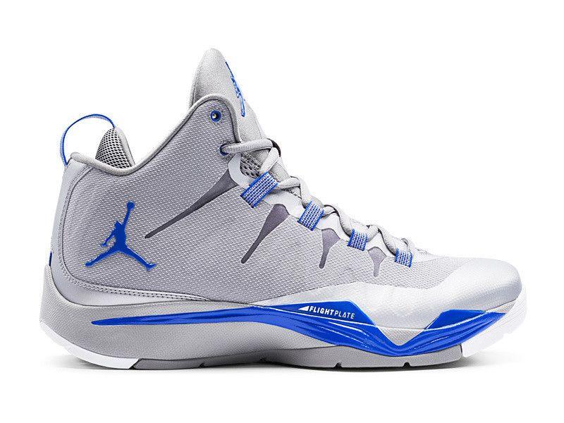 c904506294b21 Air Jordan Super.Fly 2/II - Chaussures Officiel Jordan Pour Homme Bleu/Blanc