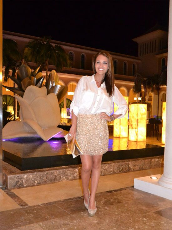 Look de noche by Paula Echevarría #fashion #celebrities #looks