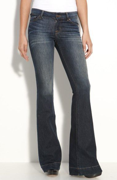 6b55682206ec9e David Kahn Janis Bell Bottom Jeans in The Reflex Wash, Size 25 | I'd ...