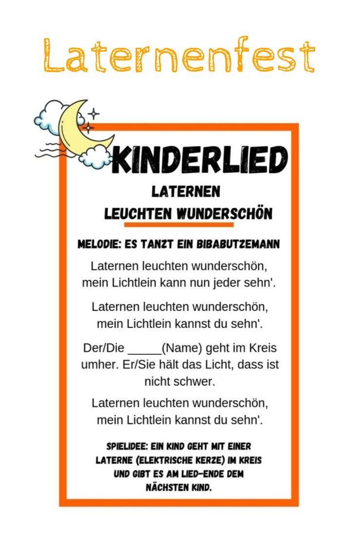 Kinderlied   Laternenfest im Kindergarten #sanktmartinbasteln