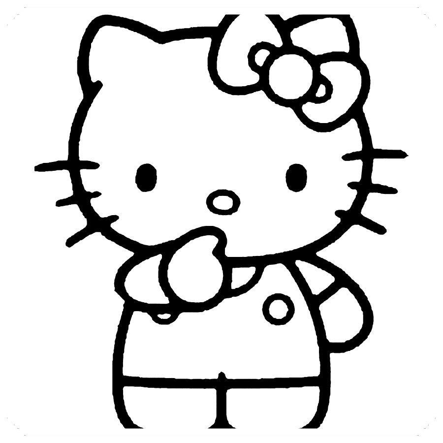 Dibujos De Hello Kitty Para Colorear Hello Kitty Imprimible