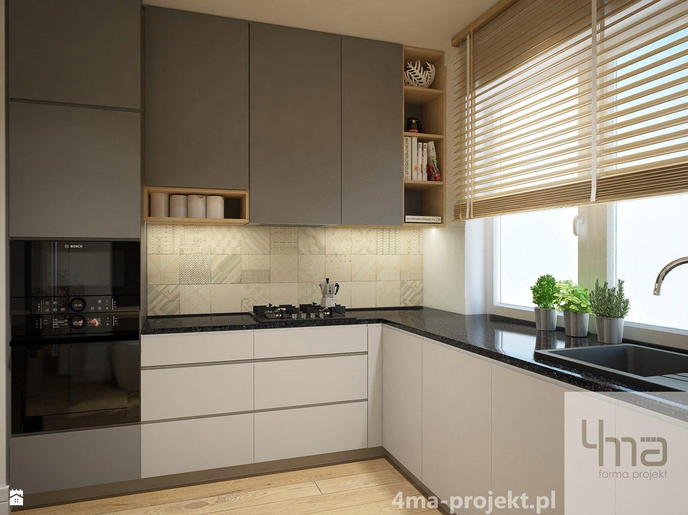 Wystroj Wnetrz Kuchnia Pomysly Na Aranzacje Projekty Ktore Stanowia Prawdziwe Inspiracje White Kitchen Interior Design Kitchen Design Decor Kitchen Decor