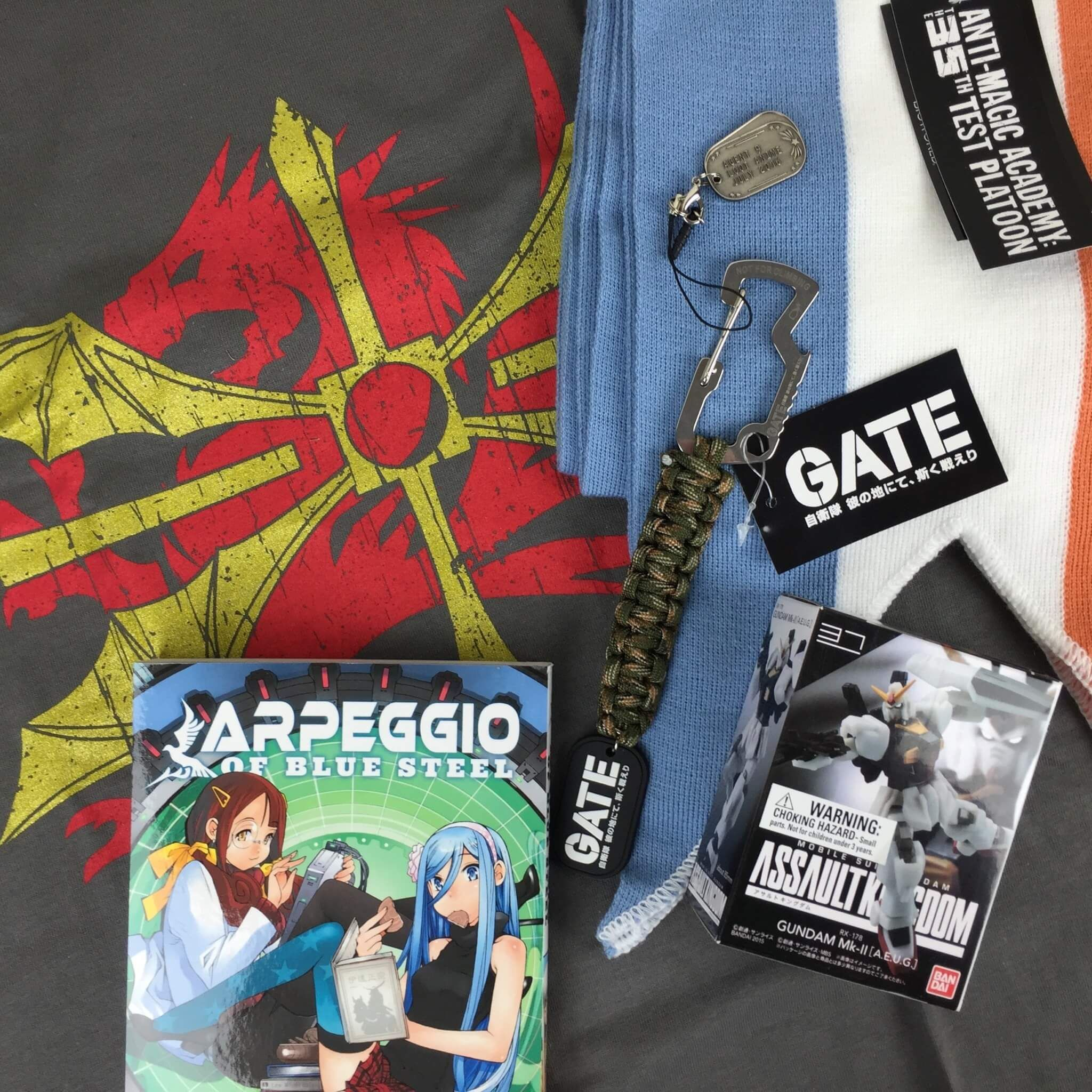 July 2016 loot anime subscription box review coupons