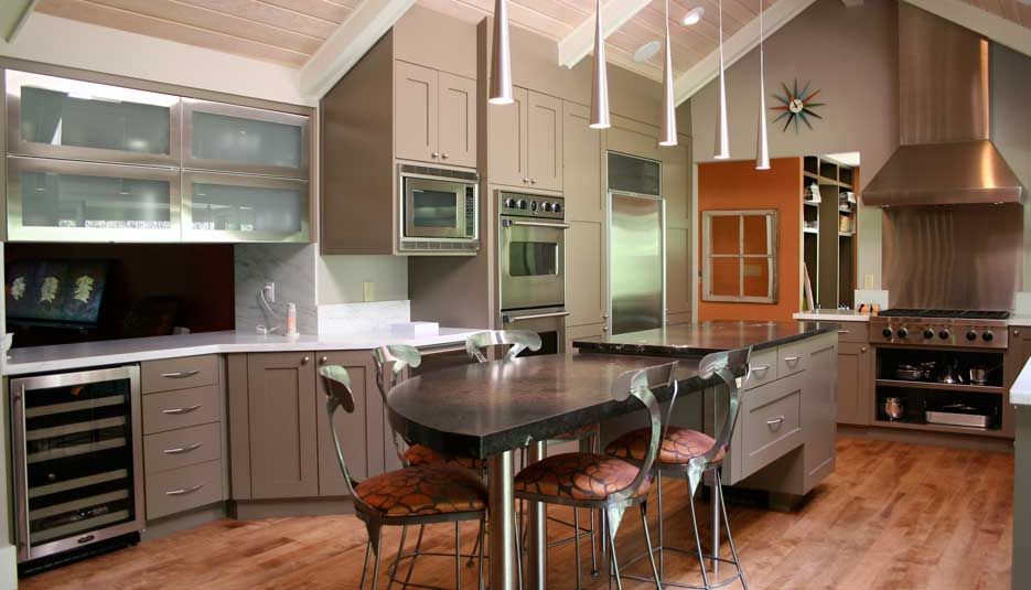 Cabinet Color Transitional Mushroom | Crystal Cabinets