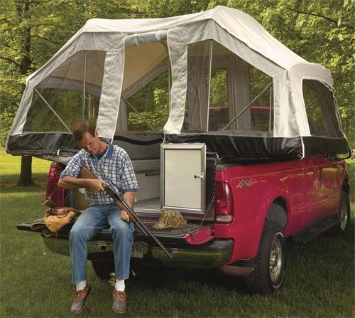 Vehicle Tent Campers : Quicksilver truck camper by livin lite exterior prepper