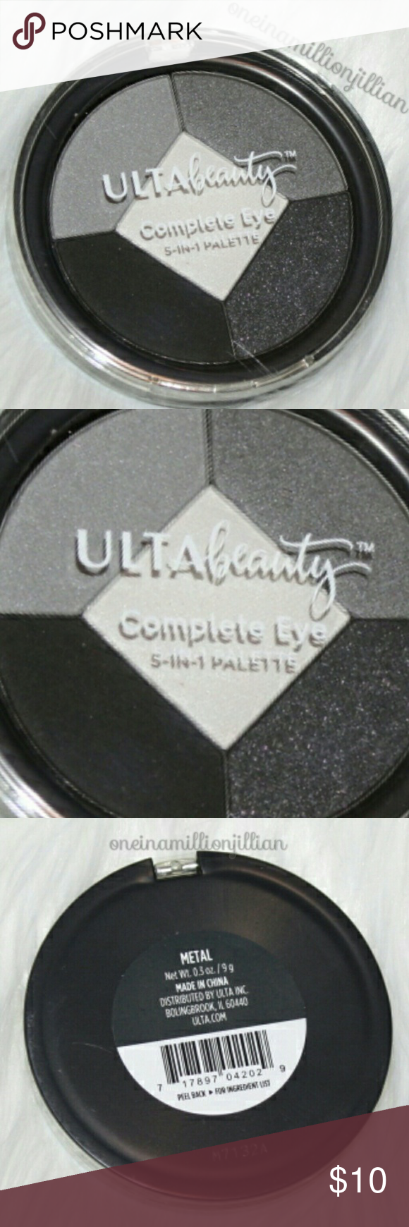Ulta Complete Eye Shadow & Liner Palette Boutique