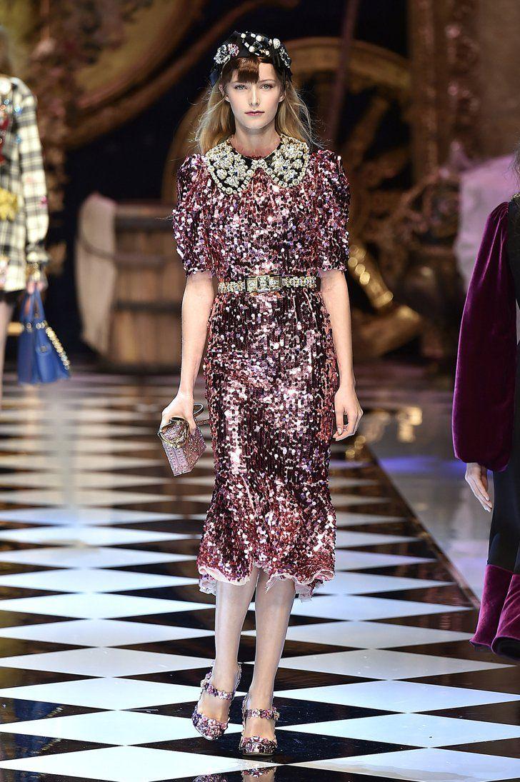 Pin for Later: Die 12 größten Modetrends der Fashion Weeks Herbst/Winter 2016  Dolce & Gabbana Herbst/Winter 2016