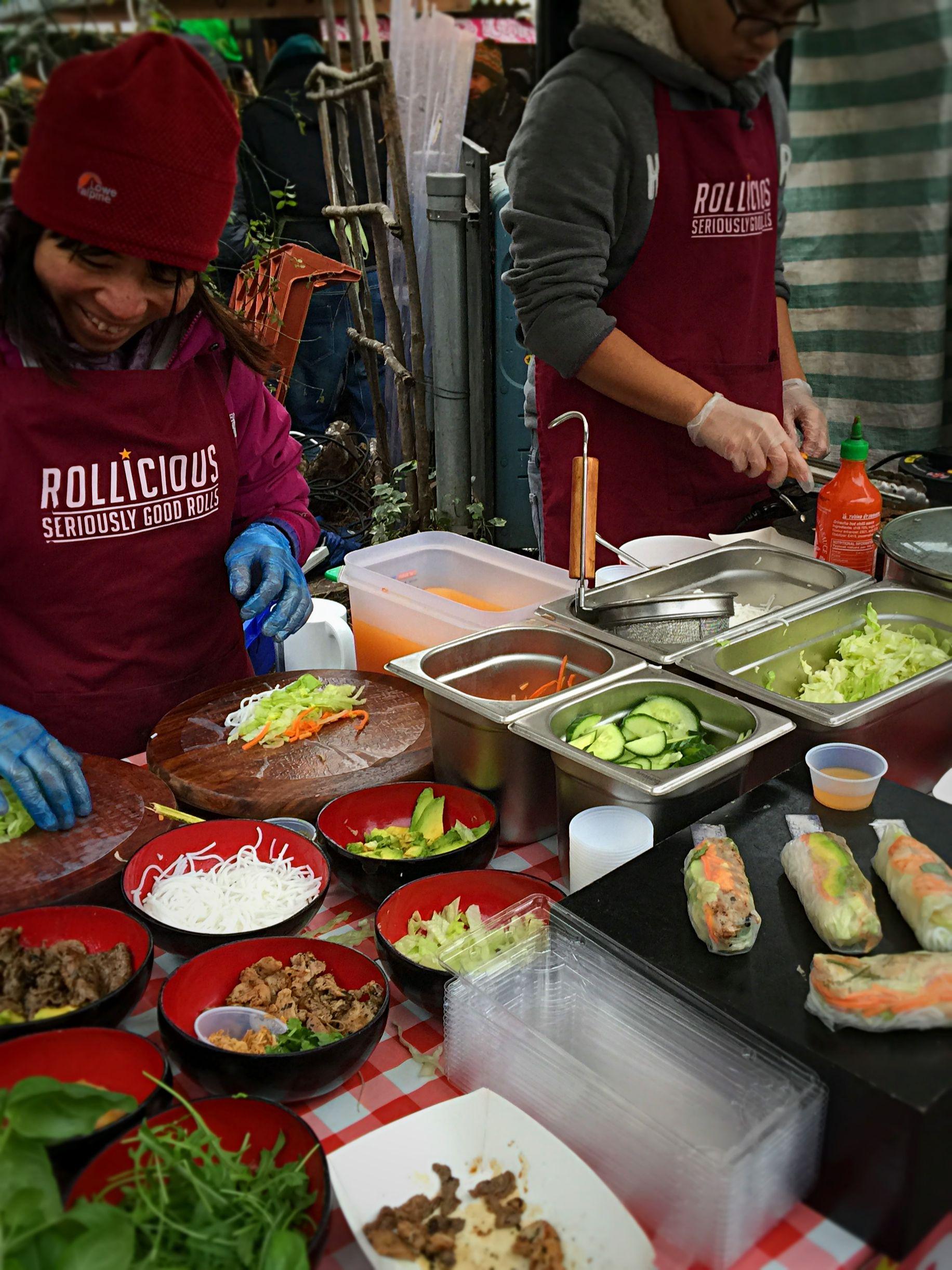 Vietnamese, Camden Market Street food, January 2015