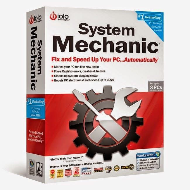 Iolo System Mechanic 12 7 Free Software Download Mechanic Technology Systems System