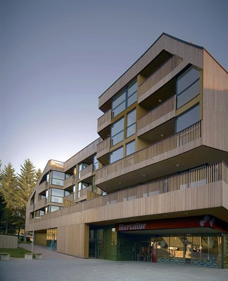 Best Shopping Roof Apartments By Ofis Arhitekti 400 x 300