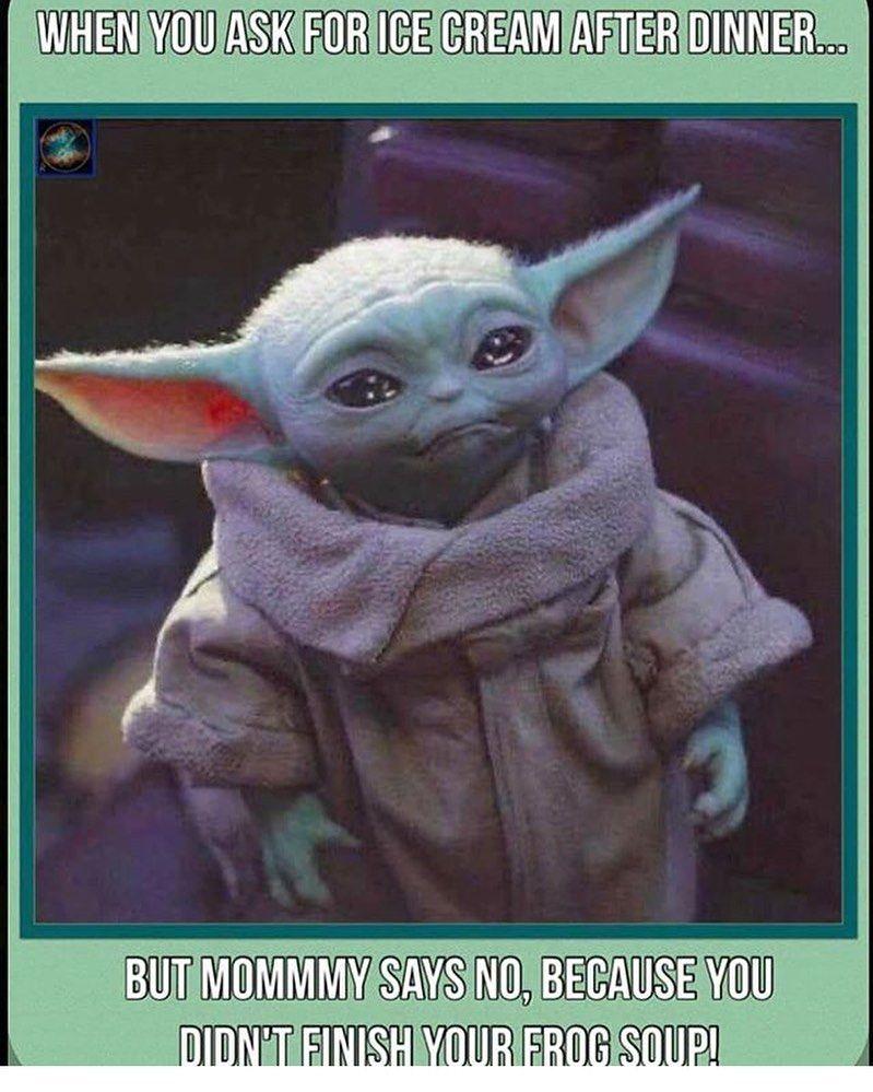 Baby Yoda Memes On Instagram Babyyodamemes Yoda Funny Yoda Meme Yoda Images