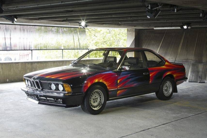 Something Unique In The World Of Racing Bmw Art Car Project Bmw