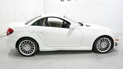 2008 Mercedes Benz Slk Class 2dr Roadster 5 5l Amg Mercedes Benz