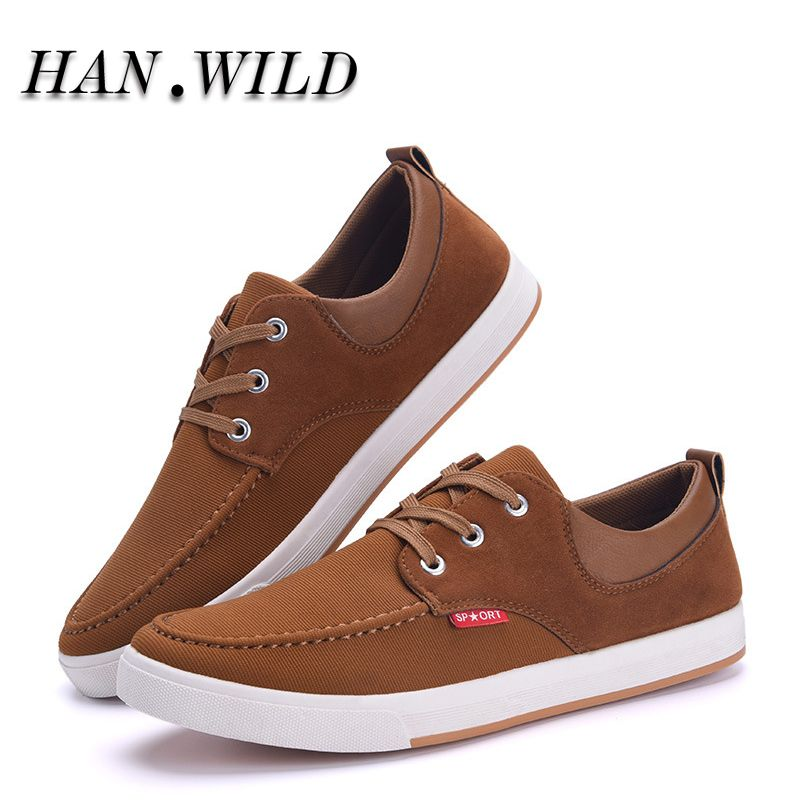 Hanwlid Brand Canvas Shoes Men S Sneakers For Men Low Classic