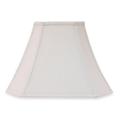Bed Bath And Beyond Lamp Shades Classy Buy Square Ivory 11Inch Fabric Lamp Shade From Bed Bath & Beyond Design Decoration