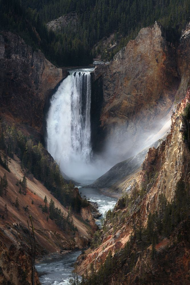 Artist Point Yellowstone by nick mangiardi on 500px