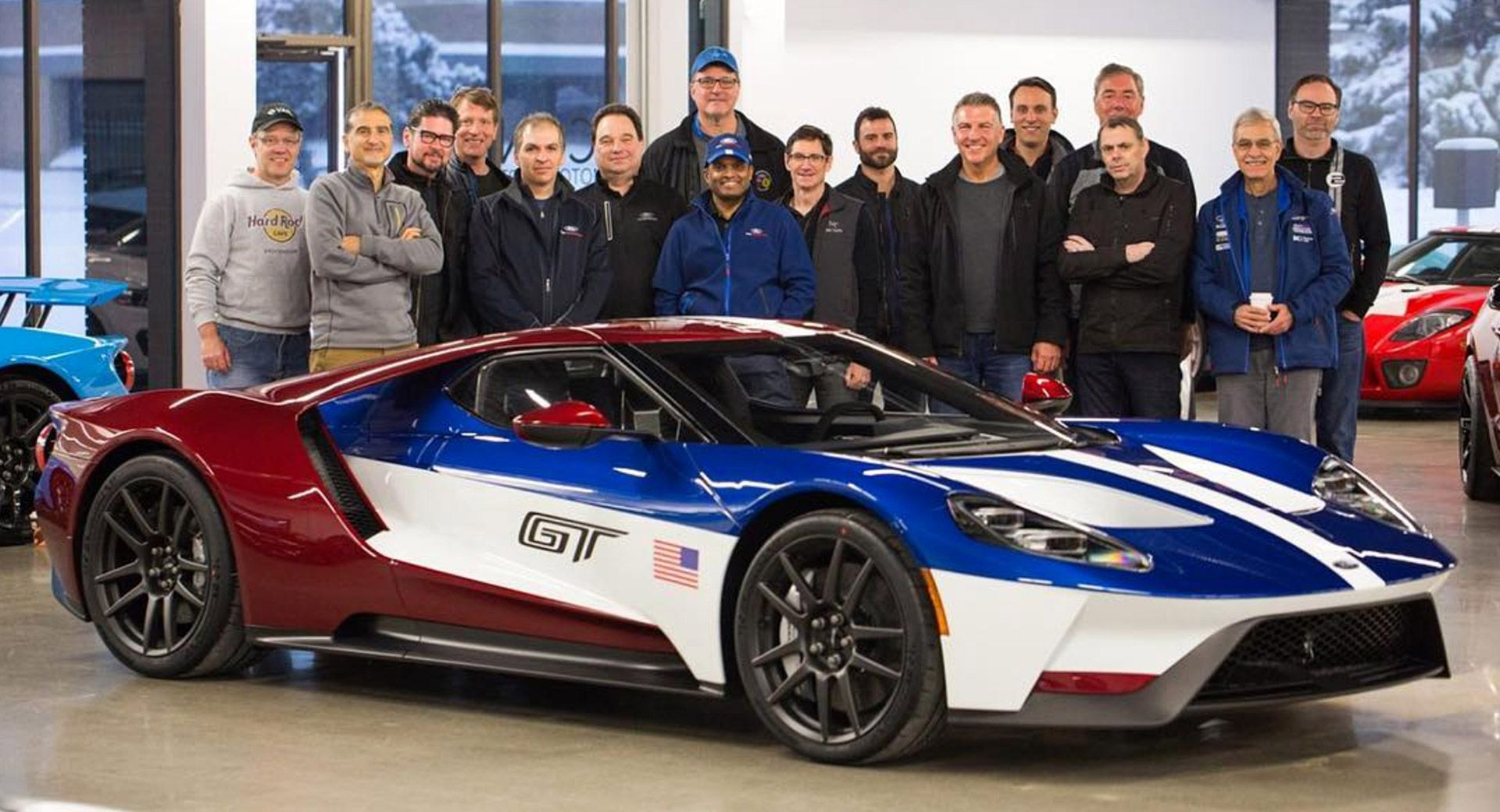 You Can Order A Ford Gt With This Racing Livery But Only If You