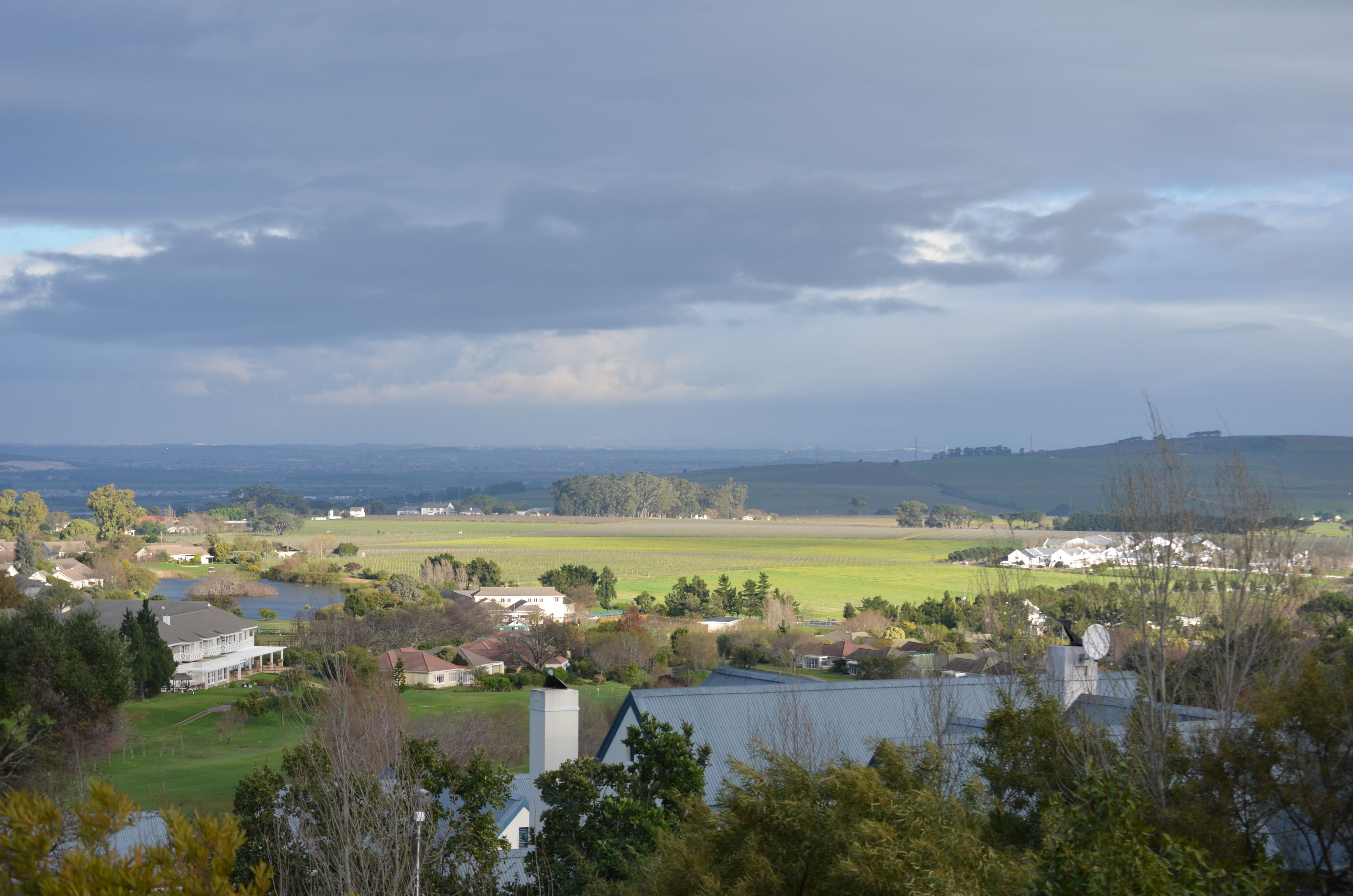 The Early Morning Views In Winter From Pepperwood Estate In