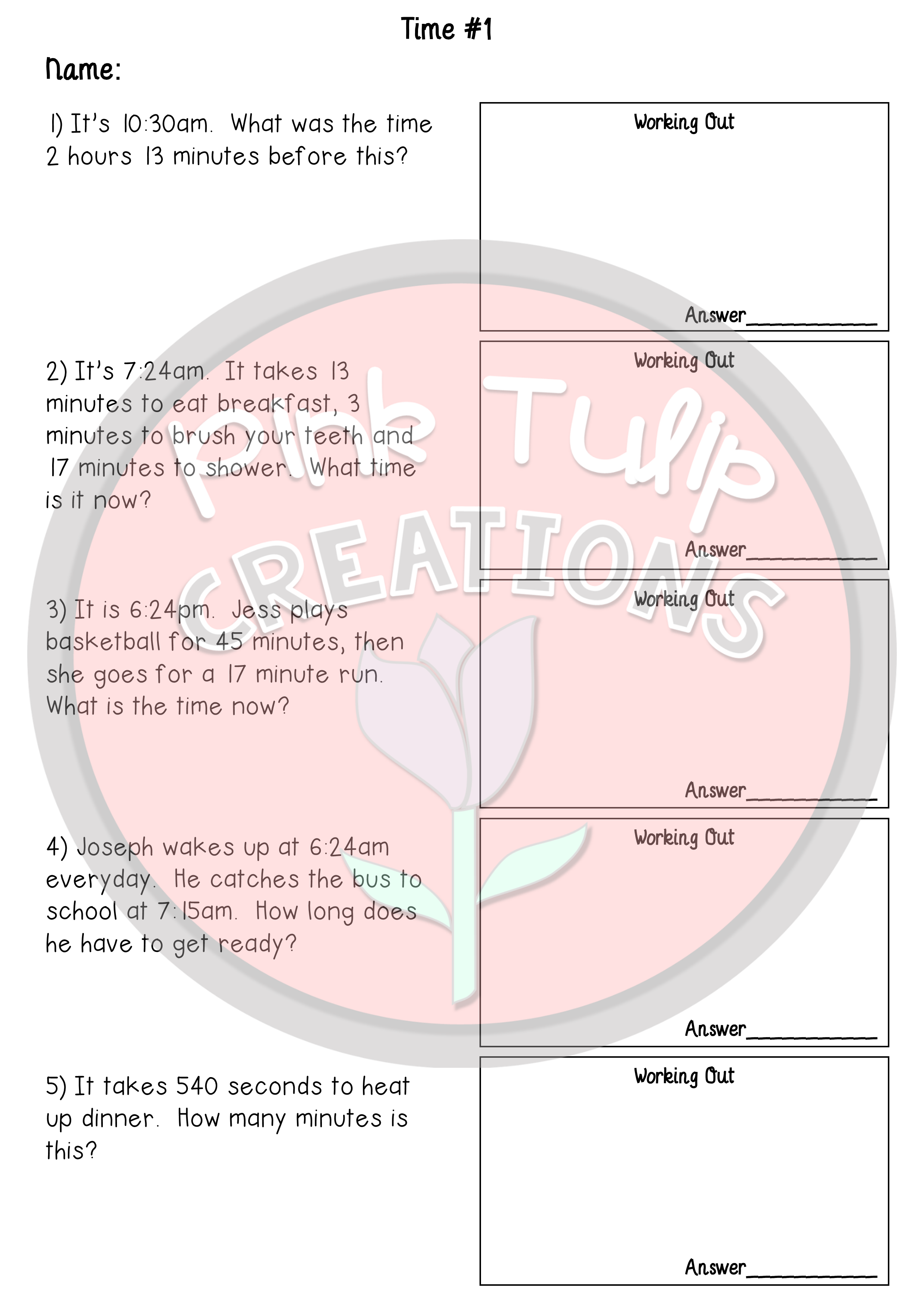 4 Addition And Subtraction Worksheets