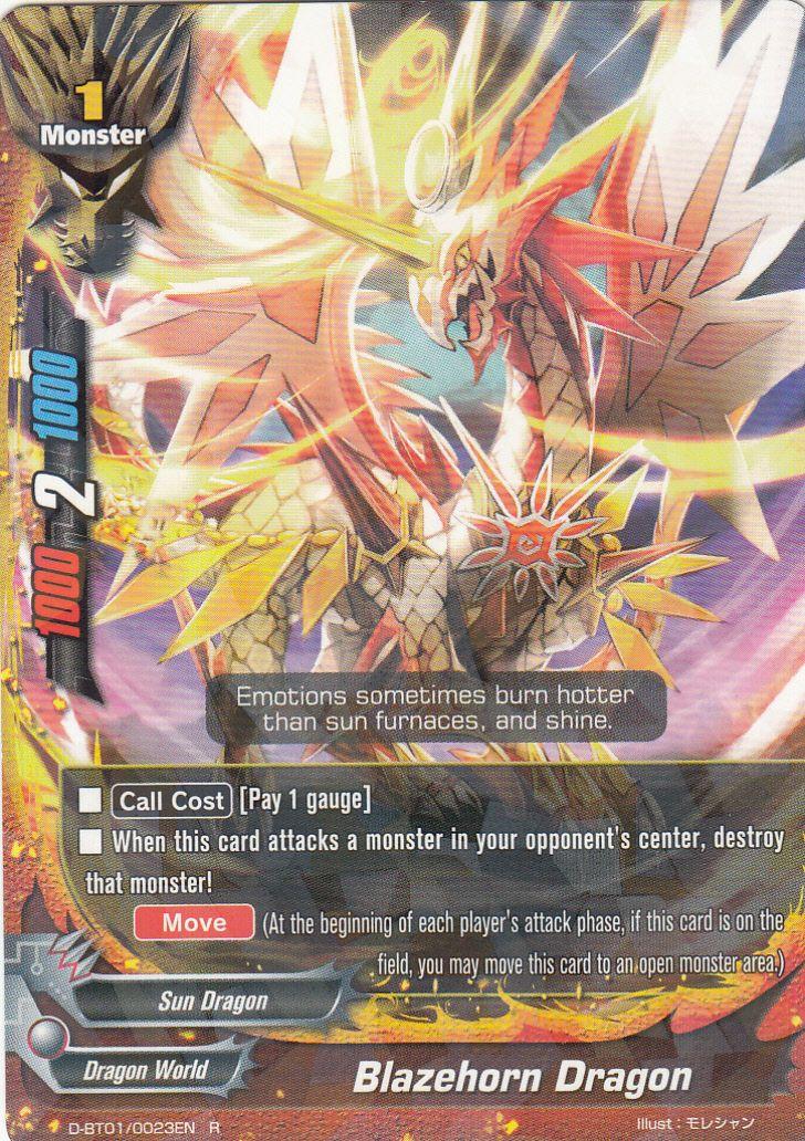 Buddyfight English BT01//0023EN R Knight Energy
