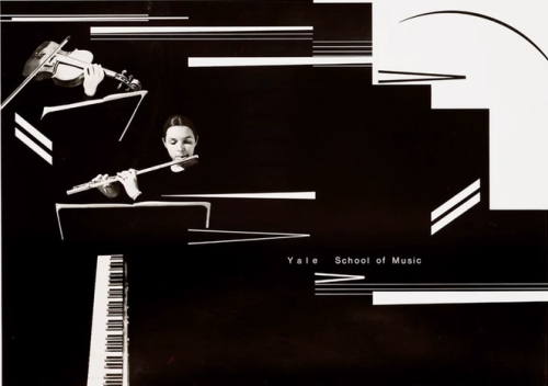 Keniehuber Inge Druckrey Cover Design For Yale School Of Music