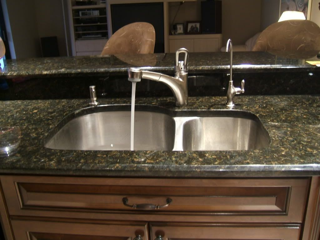Kitchen Sinks And Faucets Show Me Your Faucet Set Up With Undermount
