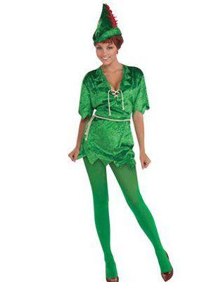 Ladies Peter Pan Fancy Dress - Book Week Costumes at partynutters.co.uk -  sc 1 st  Pinterest & Ladies Peter Pan Fancy Dress - Book Week Costumes at partynutters.co ...