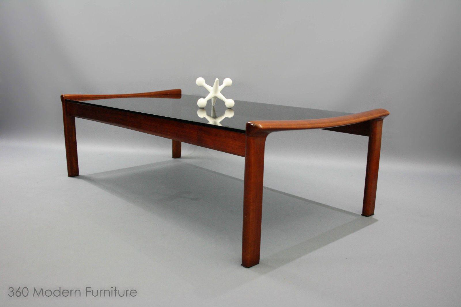 mid century modern coffee table tessa t21 large retro vintage fred