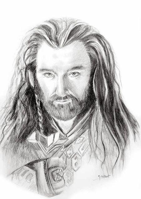 Thorin ecu de ch ne personnage du roman de jrr tolkien le - Dessin seigneur des anneaux ...