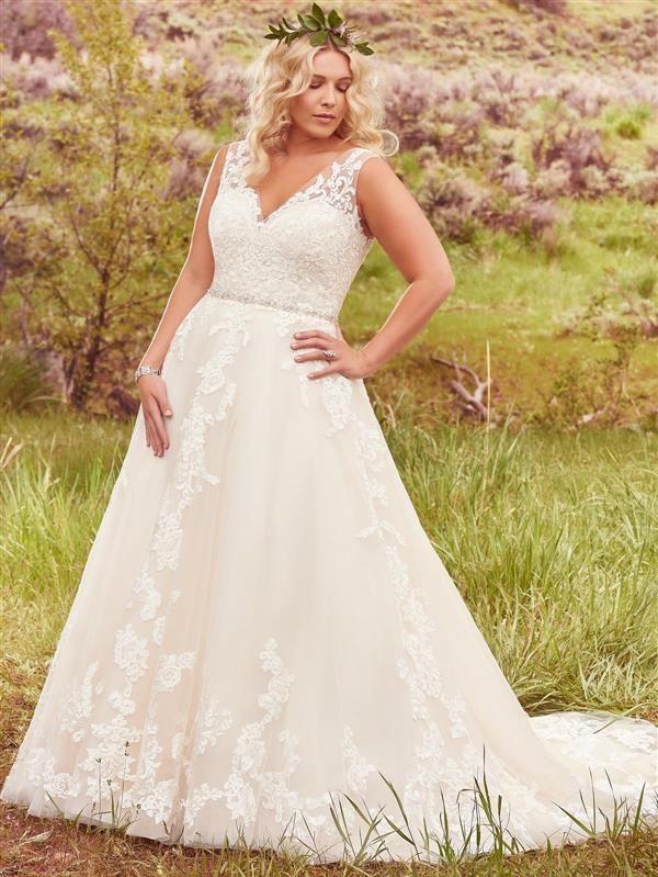 Maggie Sottero Sybil plus size wedding dress. Maggie Sottero Azura ...