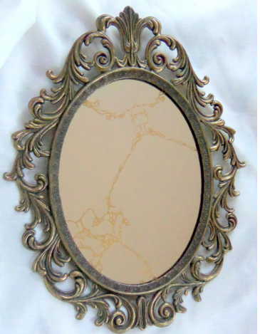 Antique oval picture frames antique brass picture frame with carving ...