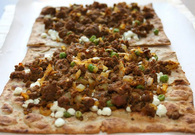 Jamaican Beef Patty Flatbread