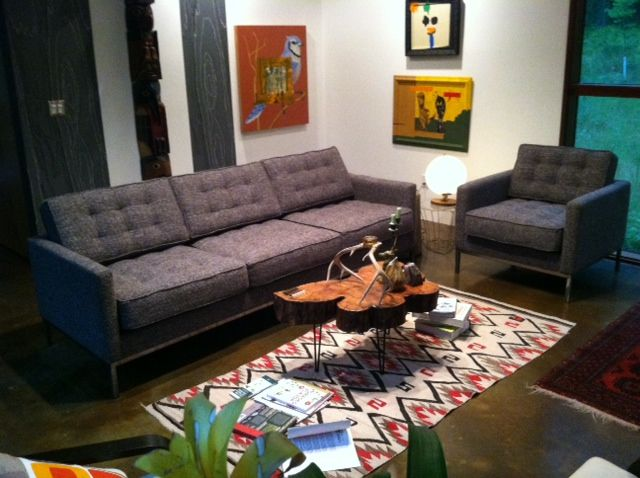 Sullivan Sofa And Chair Omega Pewter