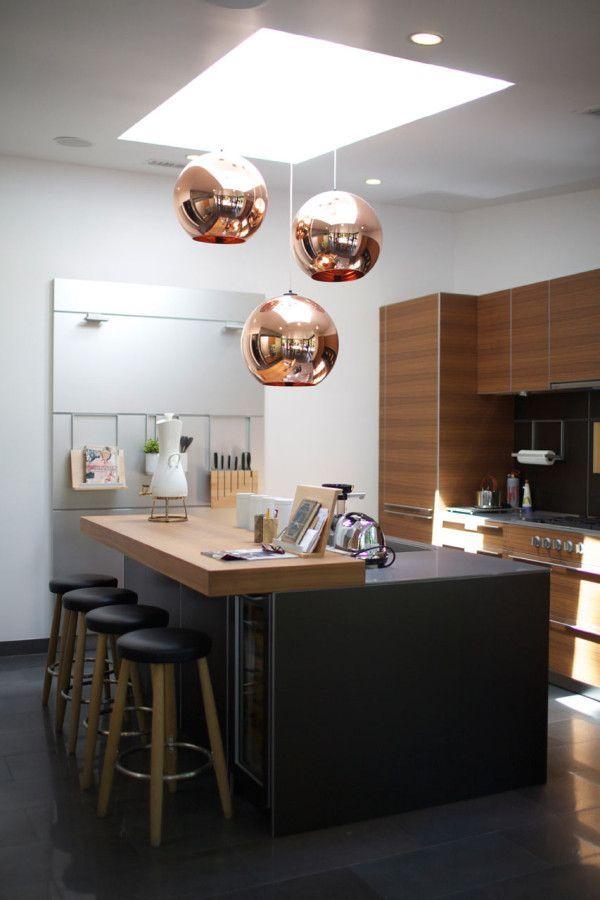 CopperLighting küche Pinterest Tom dixon, Kitchens and Lights