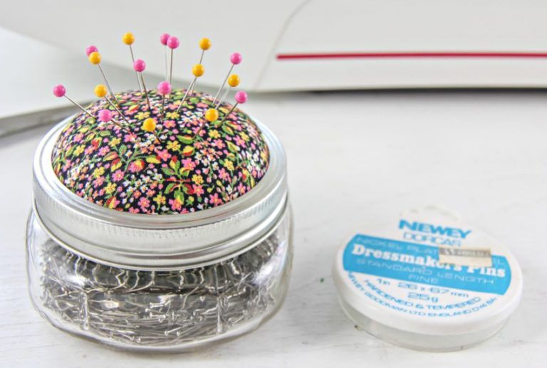 How To Make a Pin Cushion Jar (With images) Pin cushions