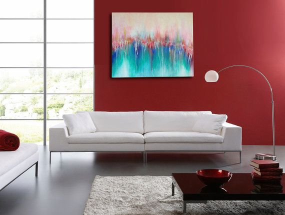 Abstract Painting Canvas Art Original Painting by Mydreampainting