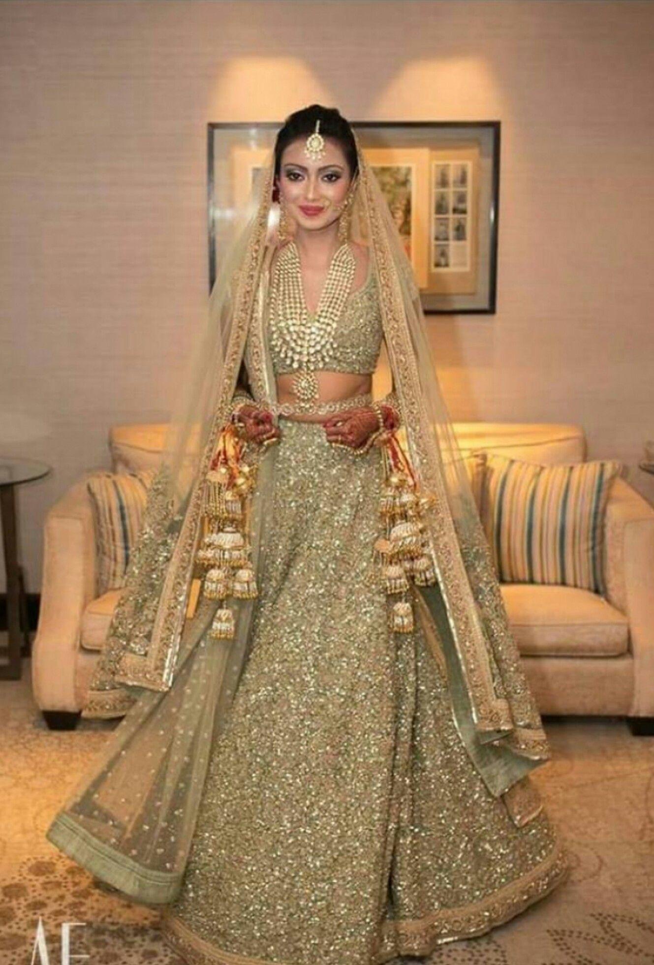 Classy bridal/wedding lehenga   wedding dress   Bridal ...