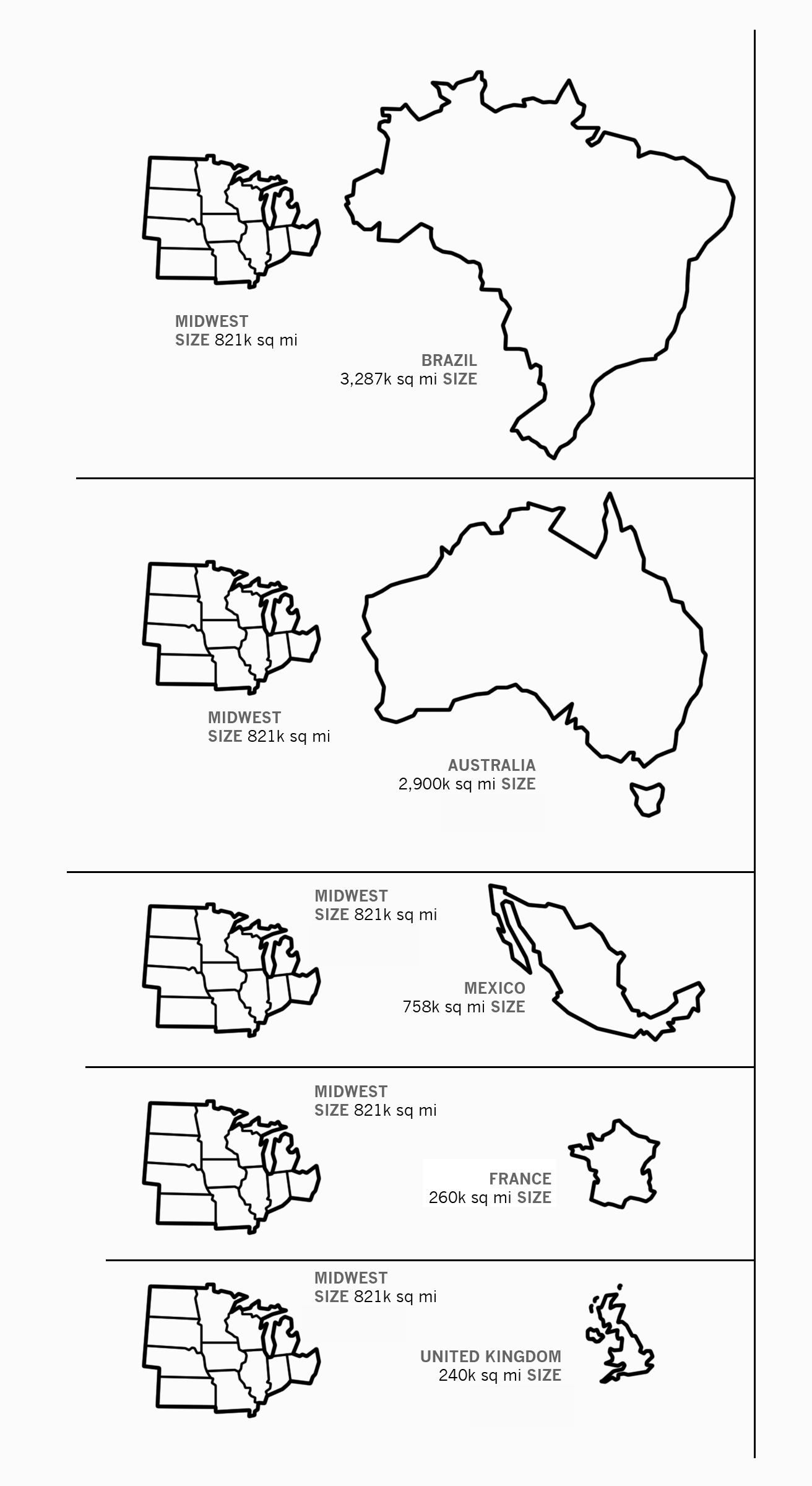 41 Maps And Charts That Explain The Midwest Learn Something New Everyday America Map First Dates