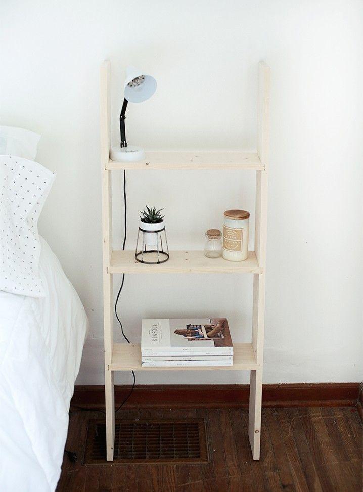 id es g niales pour d tourner une vieille chelle en bois. Black Bedroom Furniture Sets. Home Design Ideas