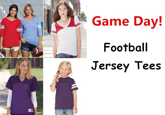 Varsity or Football Style Tees and Jerseys from NYFifth