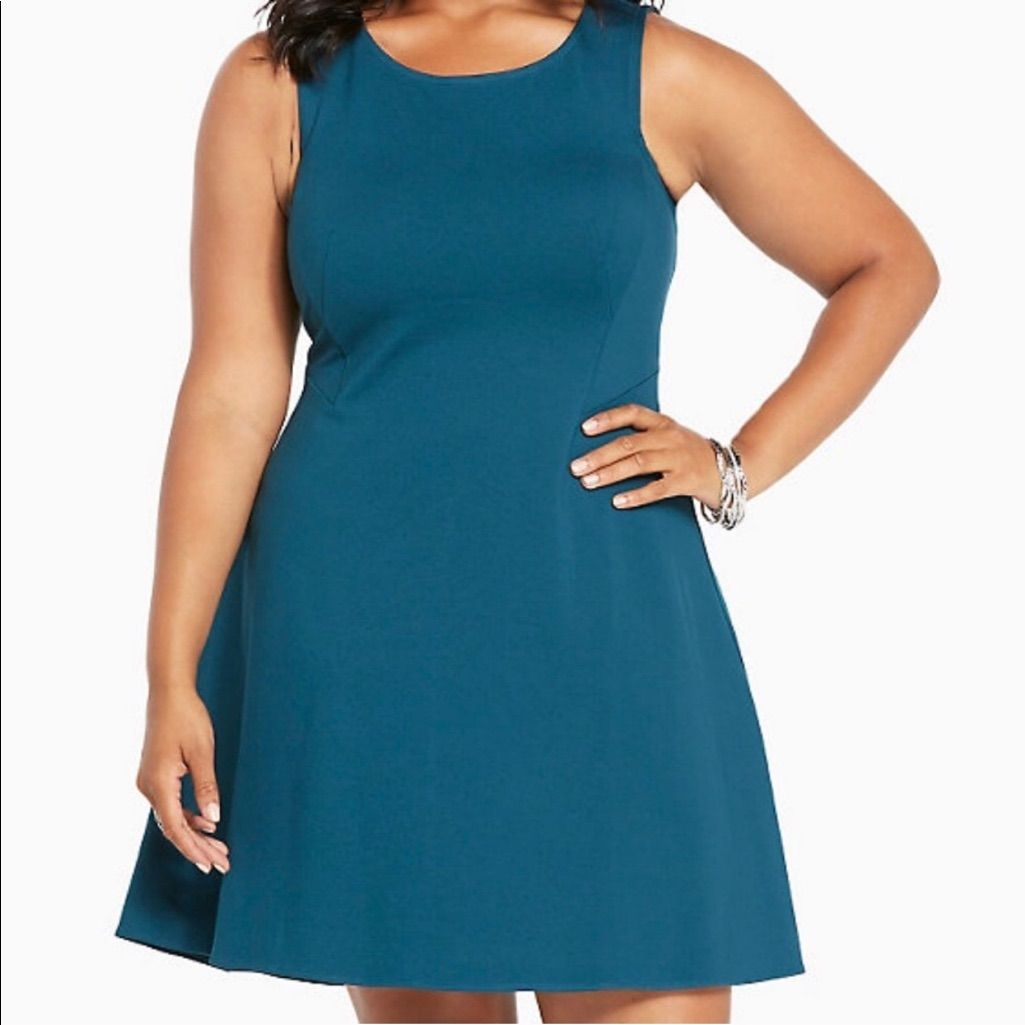 Size 24 Torrid Dark Teal Dress. | Teal dresses, Dark teal and Torrid