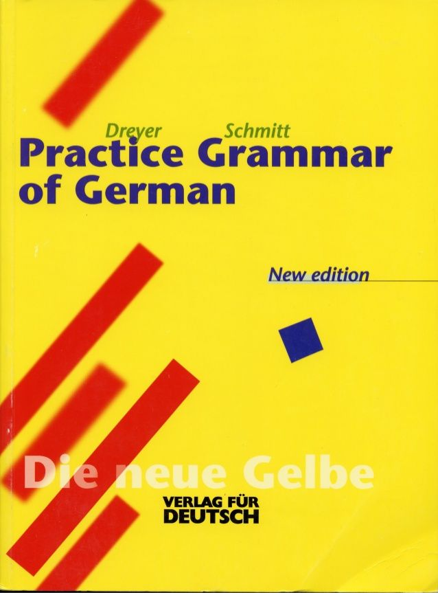 Lehr Und Ubungsbuch Der Deutschen Grammatik English Ed Dreyer Sc Learn German German Phrases German Grammar