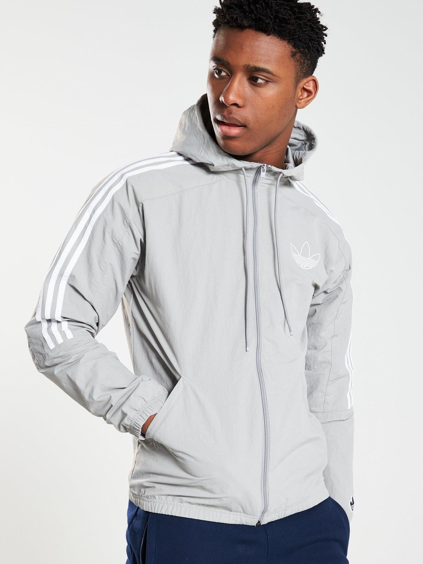 adidas Classic Trefoil Sweatshirt Men medium grey heather