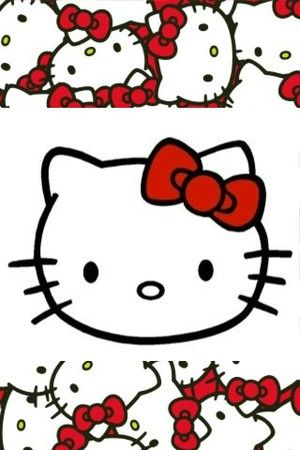 iphone壁纸 背景 hello kitty - 堆糖 发现生活_收集美好_分享图片