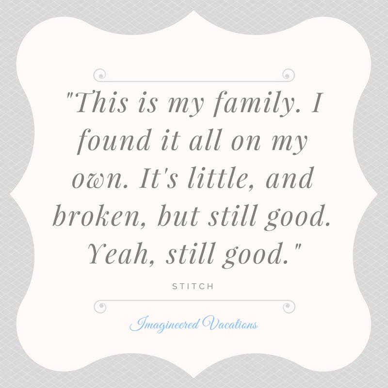 Disney Vacation Family Time Disneyquote Stitch Liloandstitch