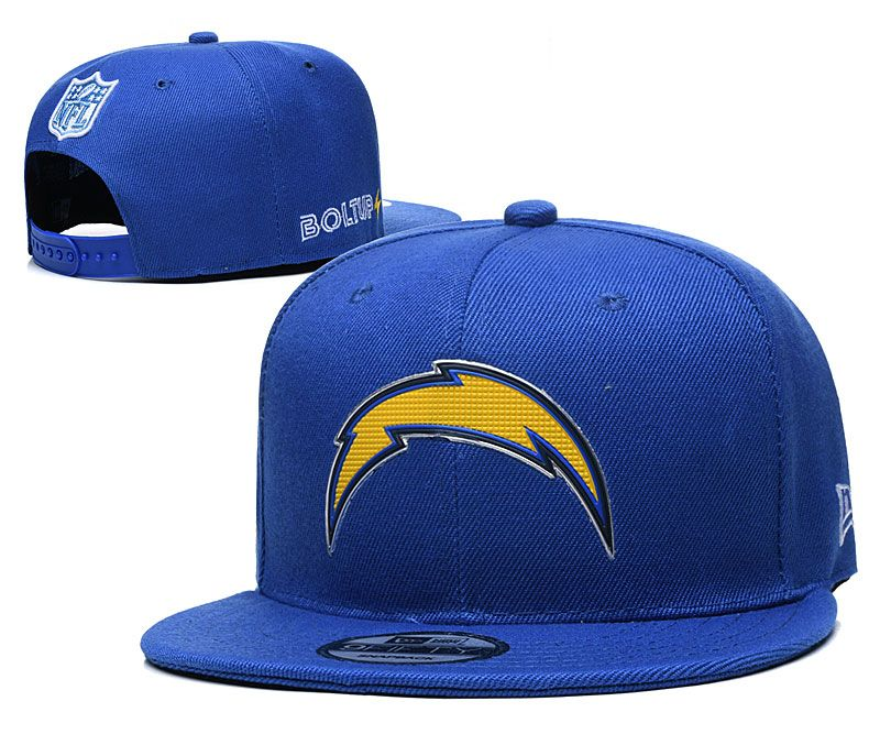 Los Angeles Chargers Blue Snapback Cap In 2020 Snapback Cap Snapback Hats Adjustable Hat
