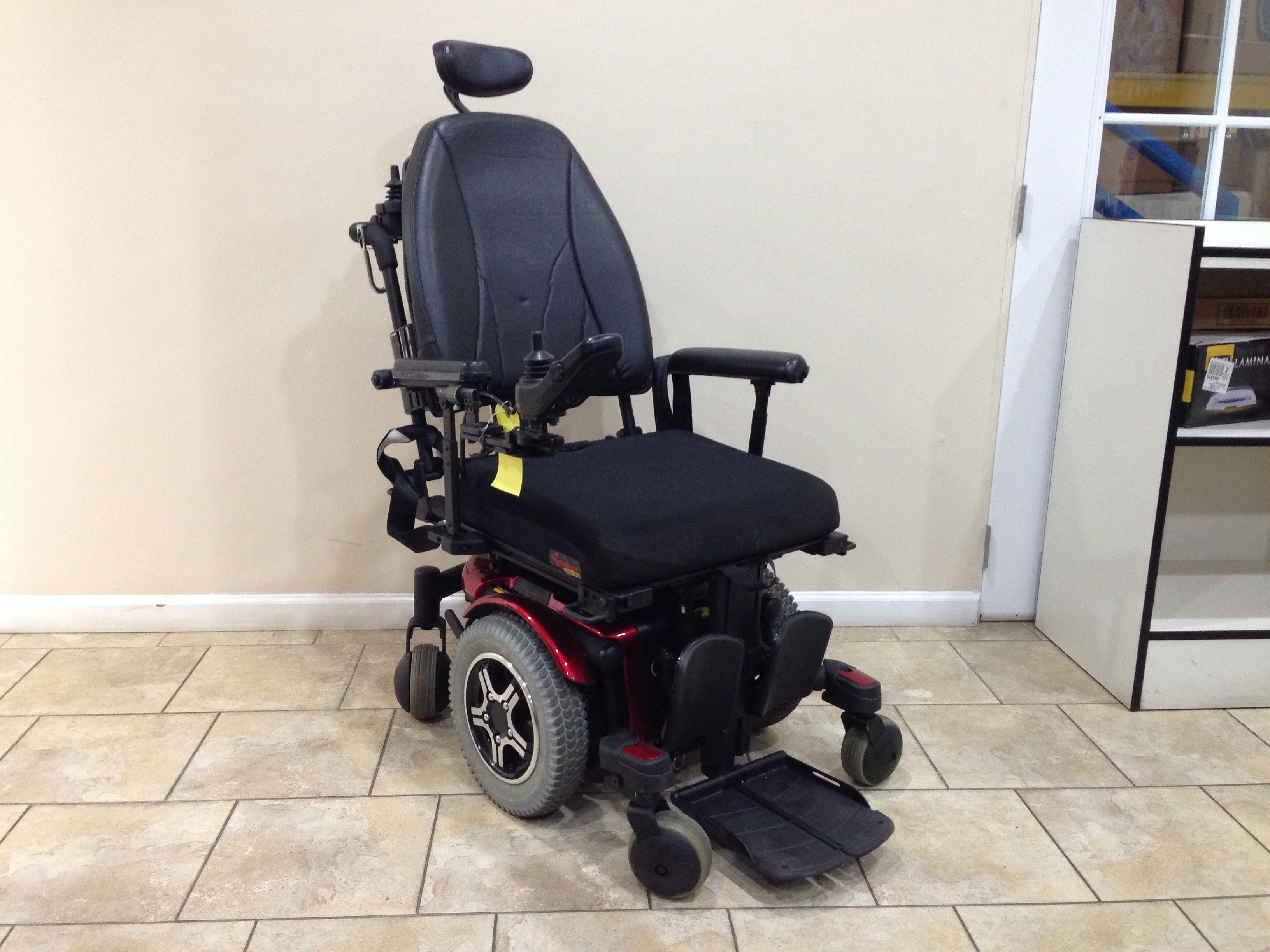 Quantum 600 Power Chair Target Accent Rehab Tilt Recline Elevating Legrest