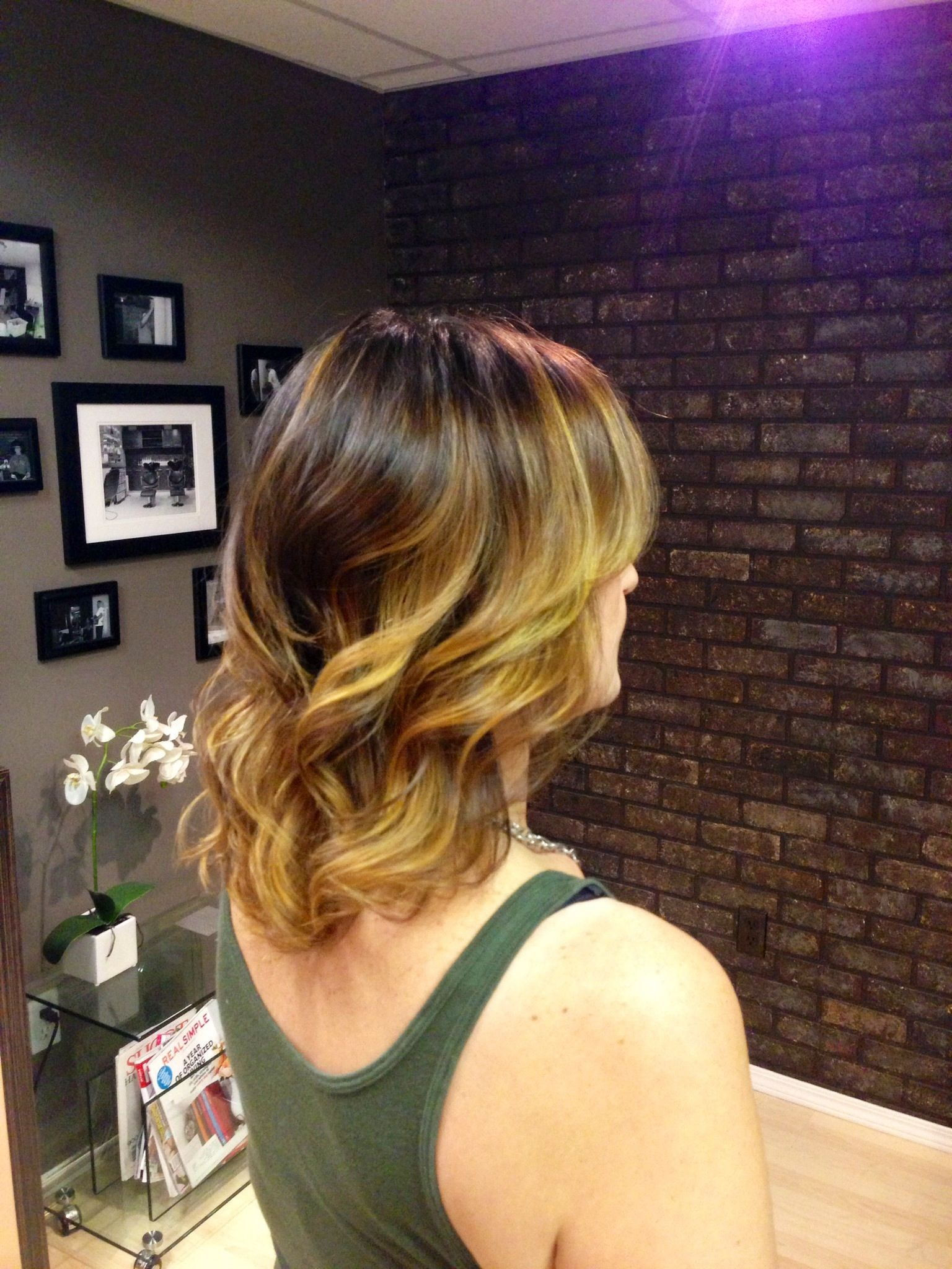 ombre hair urban texture studio