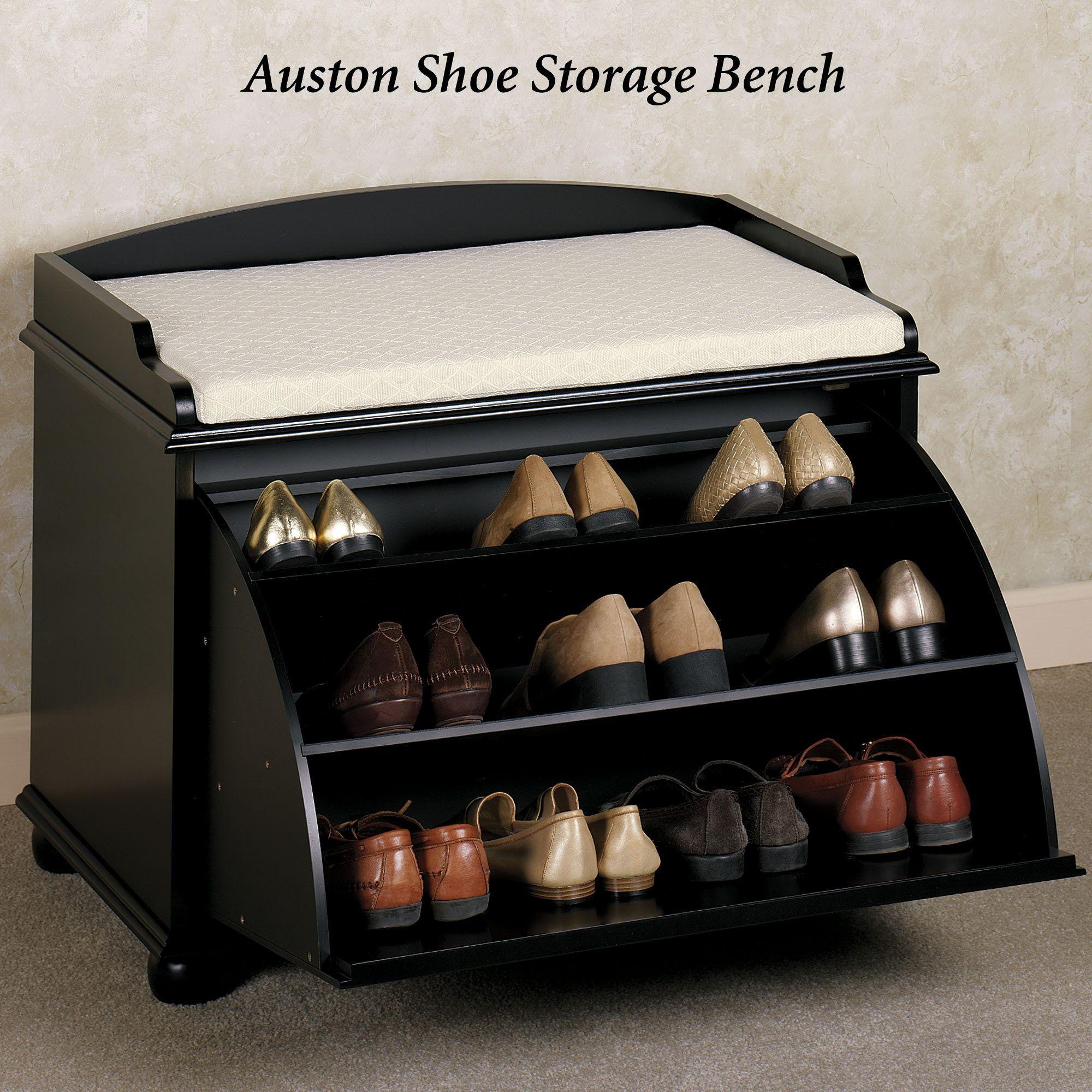 Ayden Shoe Storage Bench in 2019 Shoe storage bench